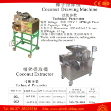 Top Quality Ss304 Coconut Extractor Machine Coconut Milk Extracting Machine