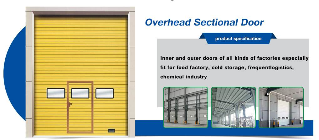 overhead sectional door-
