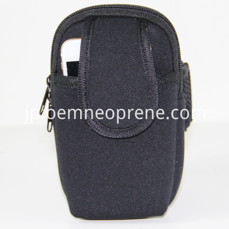 Alt Black Neoprene Arm Bag