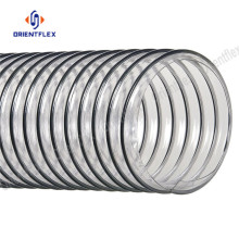 Rigid helix dust collection flexible air duct hose