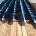nettoyage des vitres poteaux alimentés en eau / rallonges en fibre de carbone avec col de cygne / embout de pôle euro fileté / tuyau / jet d'eau / adaptar