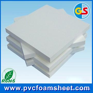 Feuille noire de mousse de PVC de 20mm pour l'usage de porte et d'armoire (la meilleure taille: 1.22m * 2.44m)