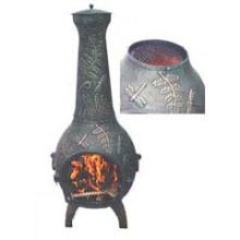 Chimenea, Firepit BBQ Grill (FSL014), Chiminea