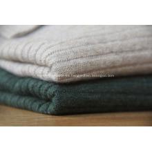 suéteres de cachemira con grandes solapas