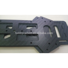 Plaques 3K Twill mat en fibre de carbone professionnel, coupe CNC sur mesure Feuilles en fibre de carbone, Drone cadre carbone feuille de fibres