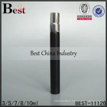 Flacon pulvérisateur noir de 10 ml; Flacon pulvérisateur noir 5ml