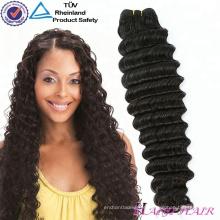 Extensão natural do cabelo da porcentagem do volume 100% da cor nenhum derramamento nenhum cabelo cru tingido do Virgin