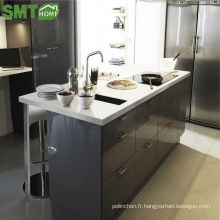 Armoires de cuisine en bois simples et modernes