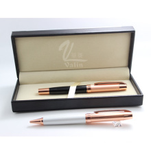 Meilleure qualité cadeau de mariage de souvenir rose stylo d'or
