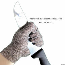 Ring Mesh Meat Processing Gloves/Butcher Anti Cut Stainless Steel Glove