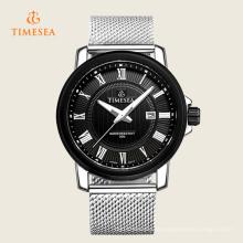 Luxusmarke der Männer passt Edelstahl-Geschäfts-Quarz-Armbanduhr Watch72235 auf