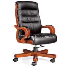 Klassische Büromöbel Hoch Rücken Echt Leder Executive Stuhl (FOHA-79)