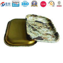 Wholesale Smoke Making Tin Tray for Smoke Packaging