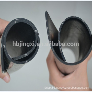 rubber sheet with cloth inserted
