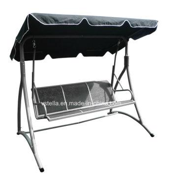 3 Seat Patio Garden Outdoor Canopy Beach Swimming Glider