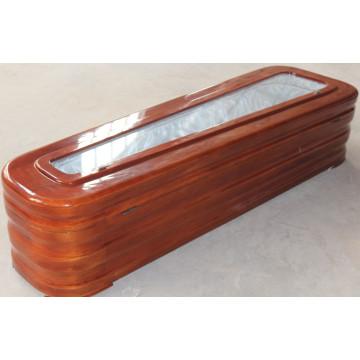 Высокое качество гроб со стеклом для продвижения (ограниченная)