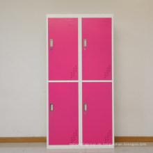 SteelArt große 4 Tür Metall Garderobe Büroraum verwenden