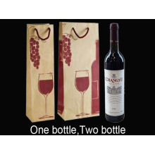 Kraft Paper Decoration Wine Bag