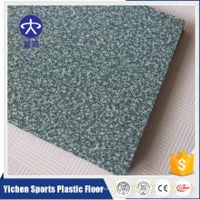 Pista de baile de cristal blanca del color del PVC del vinilo plástico de alta calidad interior del PVC para la venta