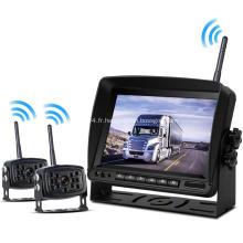 Caméra de recul sans fil avec système de surveillance