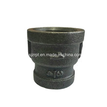 Malleable Iron Pipe Fitting Black Banded Reducing Socket