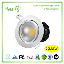SMD2835 led downlight 7w 10w 12w with UL CE approval
