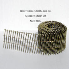 2 1/4′′x. 099′′ Wire Pallet Coil Nails Helicoidales Screw Shank