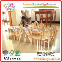 224 piezas de bloque de madera grande del bloque