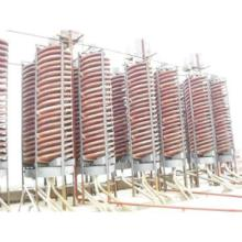 Spiral chute for Chrome ore beneficiation plant