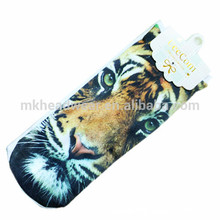 Laser Printing Cotton Knitted Wholesale Cheap Socks