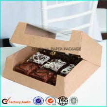 Custom Kraft Paper Coookie Box