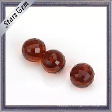Grande taille divers couleur Checker Cut Glass Ball