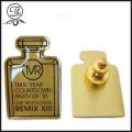 Luxury Medical bottle shape brass pin
