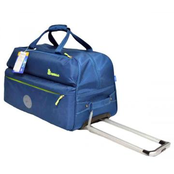 Holiday Travel Bag with 2 Silent Wheels