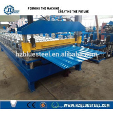 High Efficient Removable Wall Corrugated Sheet Steel Roof Machine Aluminum Metal Wall Colored Steel Cold Roll Forming Machine