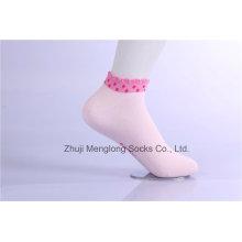Sweet Girl algodão meias bonito punho bom handfeel menina meias