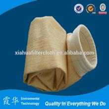 Bolsas de filtro de agujas de fibra de aramida para la recolección de polvo industrial