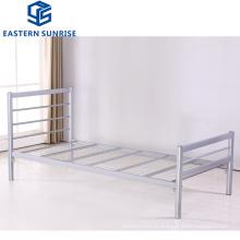 Hot Selling Metal Furniture Twin Size Iron Steel Single Layer Bed