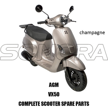 AGM VX VX50 SCOOTER KIT BODY PARTI COMPLETO SCOOTER RICAMBI ORIGINALI RICAMBI