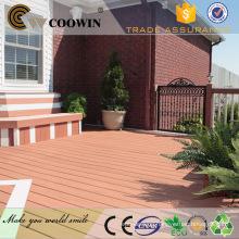 dark color wood plastic outdoor flooring/wood plastic composite sheet