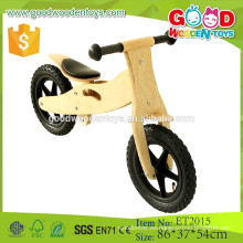 ET2015 Nueva bicicleta de equilibrio de madera del color de la naturaleza del producto popular