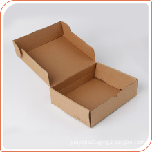 Recycled kraft paper made gift box with machine produced price