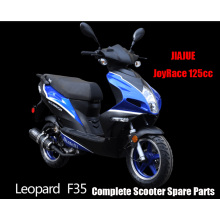 Jiajue LEOPARD125 Scooter Parts Complete