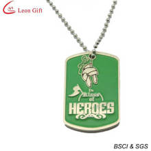 Fashion Enamel Gold Dog Tags for Gift (LM1610)
