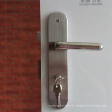 Fournir la serrure à clé de porte en acier inoxydable de haute qualité avec haute sécurité