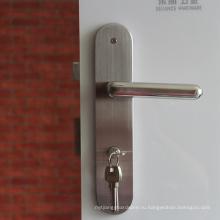 Высокое качество нержавеющей стали дверные замки вступления лесоматериалами dpor ручка с пластиной