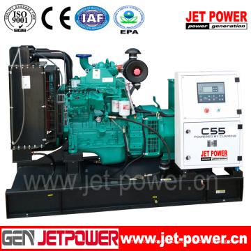 Gerador Diesel Alimentado pelo Gerador de Combustível Cummins (6BT5.9-G1 tipo aberto / silencioso)