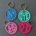 Acrylic Circle Flexible Key Ring