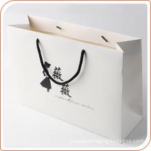 custom printed kraft paper bag for clothing packaging