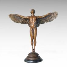 Mythologie Statue Steigende Sonne Bronze Skulptur TPE-146